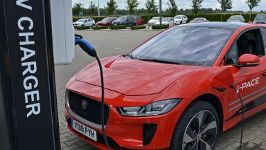 Jaguar auto eléctrico