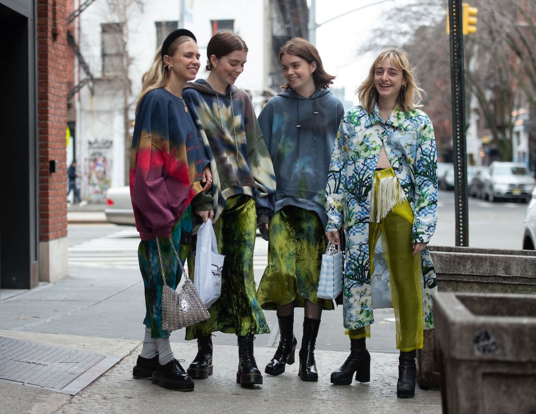 Street Style, Fall Winter 2019, New York Fashion Week, USA - 07 Feb 2019