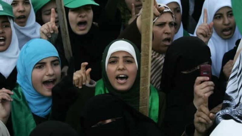 mujeres gaza