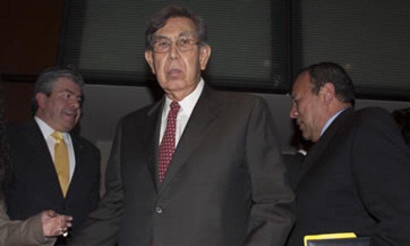 Cuauhtémoc Cárdenas y otros políticos de izquierda sostienen que el gobierno intenta privatizar la paraestatal Pemex. (Foto: Cuartoscuro)