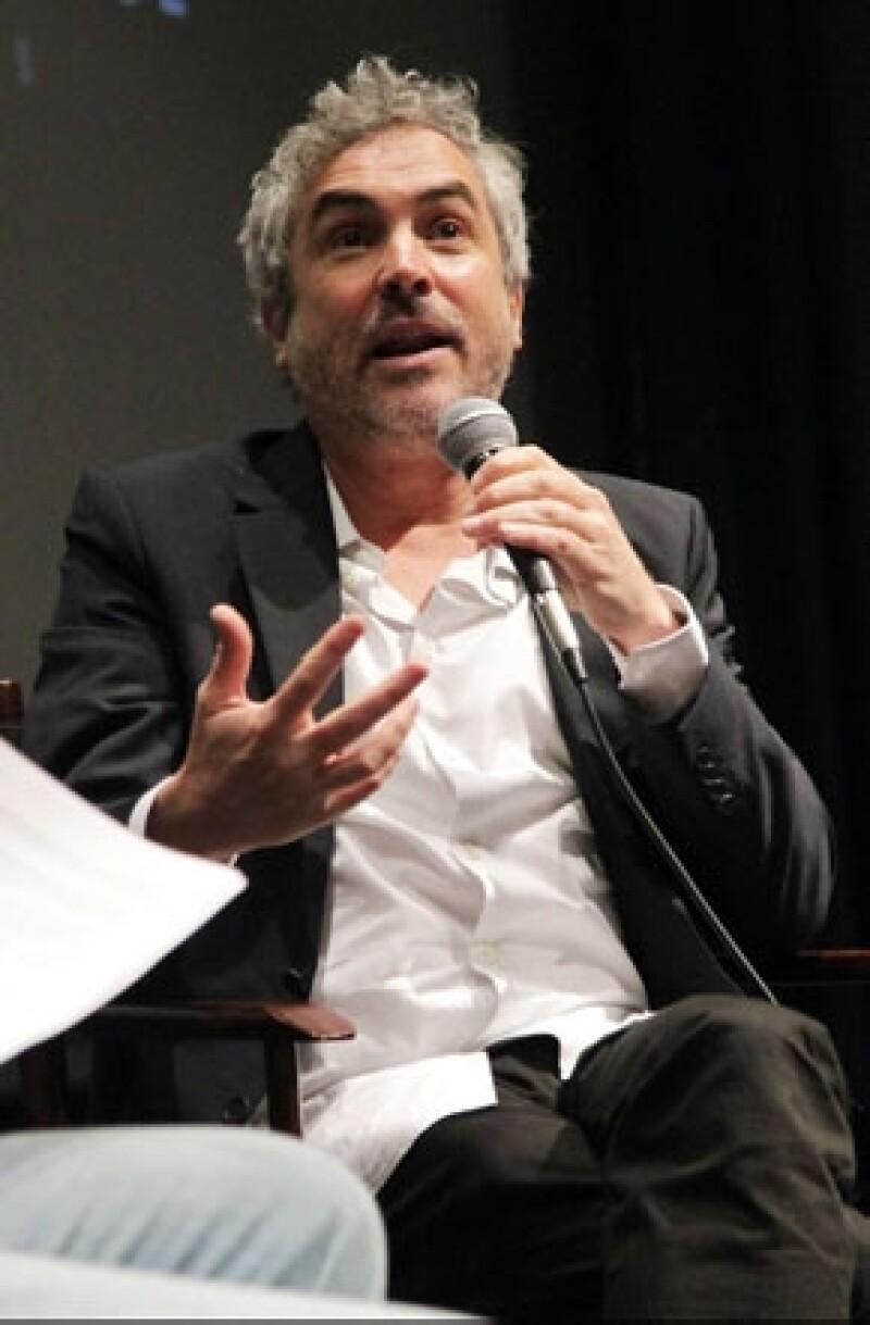 El cineasta agradeció a la Academia Británica de las Artes Cinematográficas y de la Televisión por el reconocimiento a la producción que competirá contra películas de Martin Scorsesse y Steve McQueen.