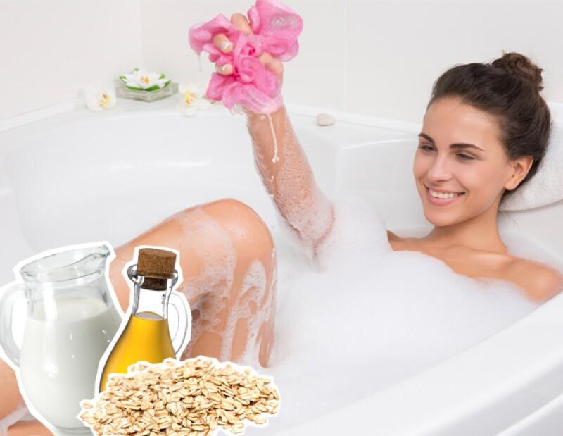 ¿Te encanta relajarte en la tina pero te sale carísimo comprar hierbas y aceites esenciales? Estos ingredientes los encontrarás en tu cocina y harán maravillas en tu piel.