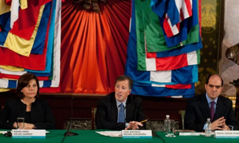 México ha enfrentado en esta administración un entorno internacional muy complejo, dijo José Antonio Meade. (Foto: Notimex)