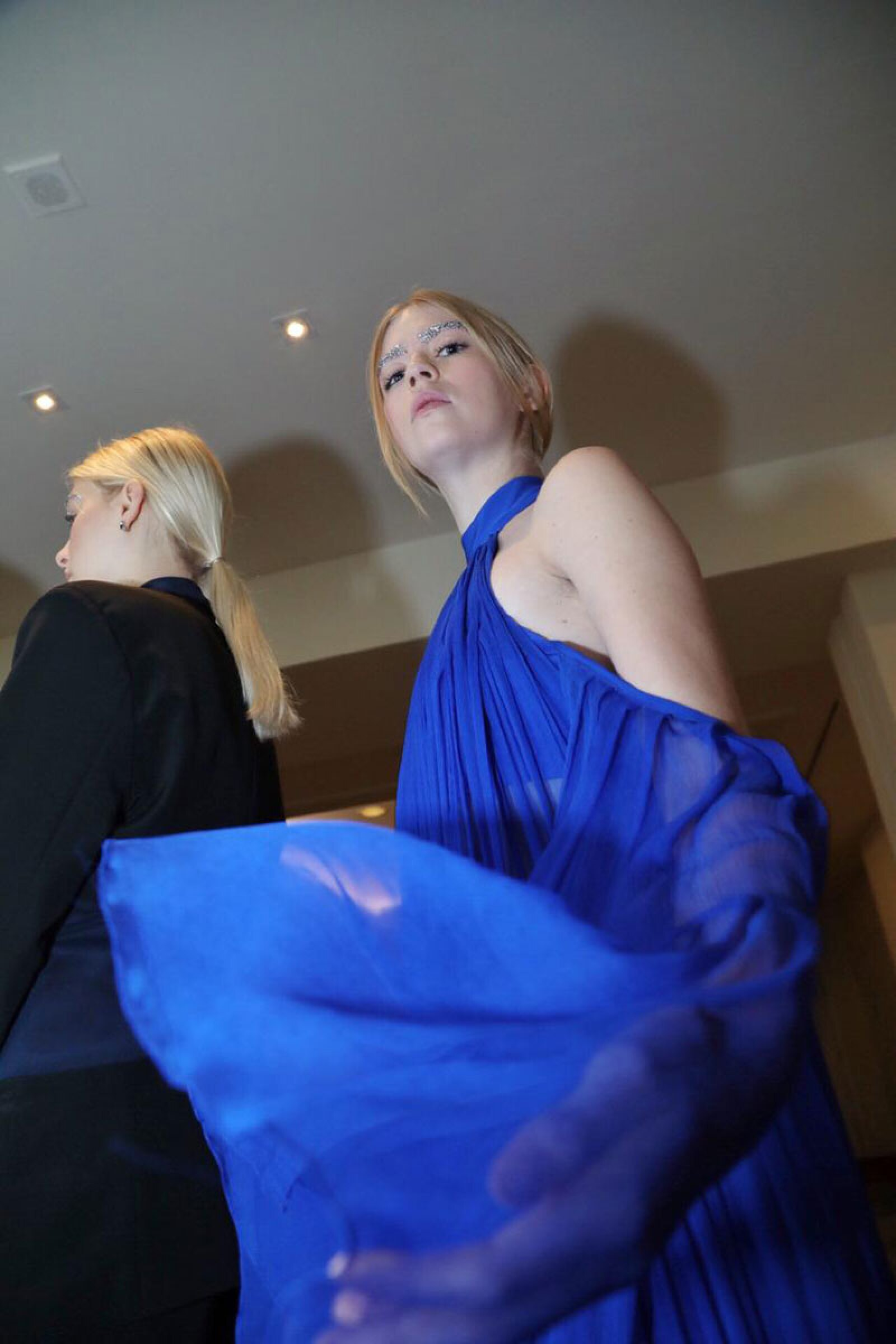 Kris-Goyri-MBFWMx-Blue-Dress