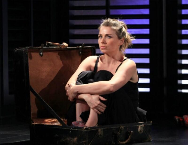 """Ludwika ha recibido reconocimiento por su papel en la obra """"Grito""""."""