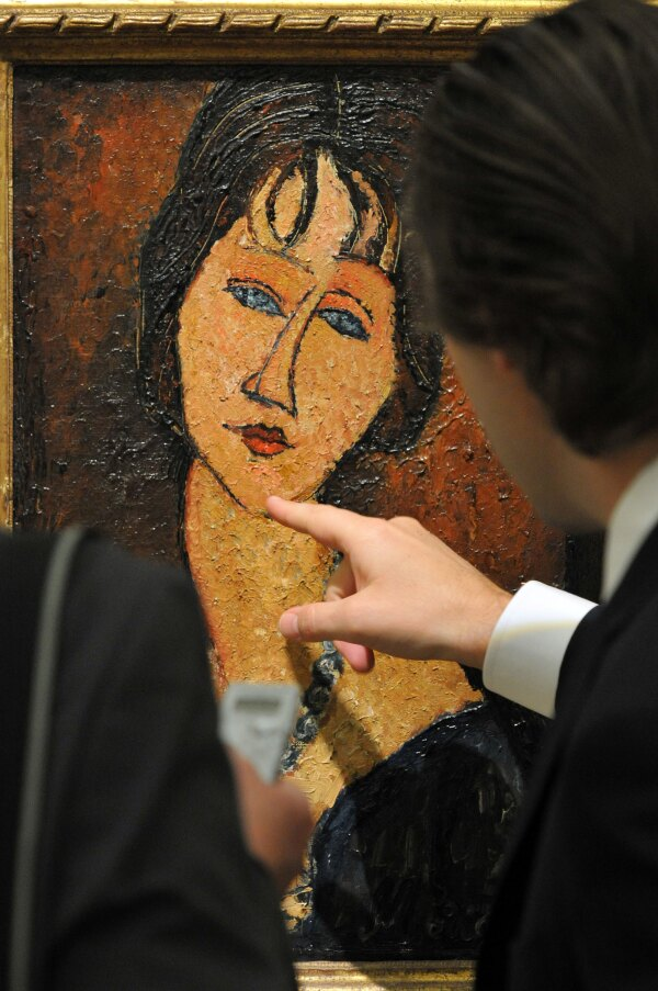 Impressionist and Modern Art sale, Sotheby's, London, Britain - 16 Apr 2010