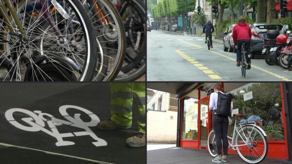 Ante la pandemia, los europeos recurren a la bicicleta