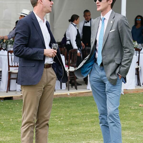 Chris Ashley y Ben Vestey