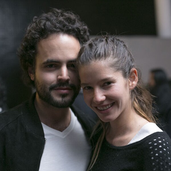 Tarek Echeverría y Ana Bouffier