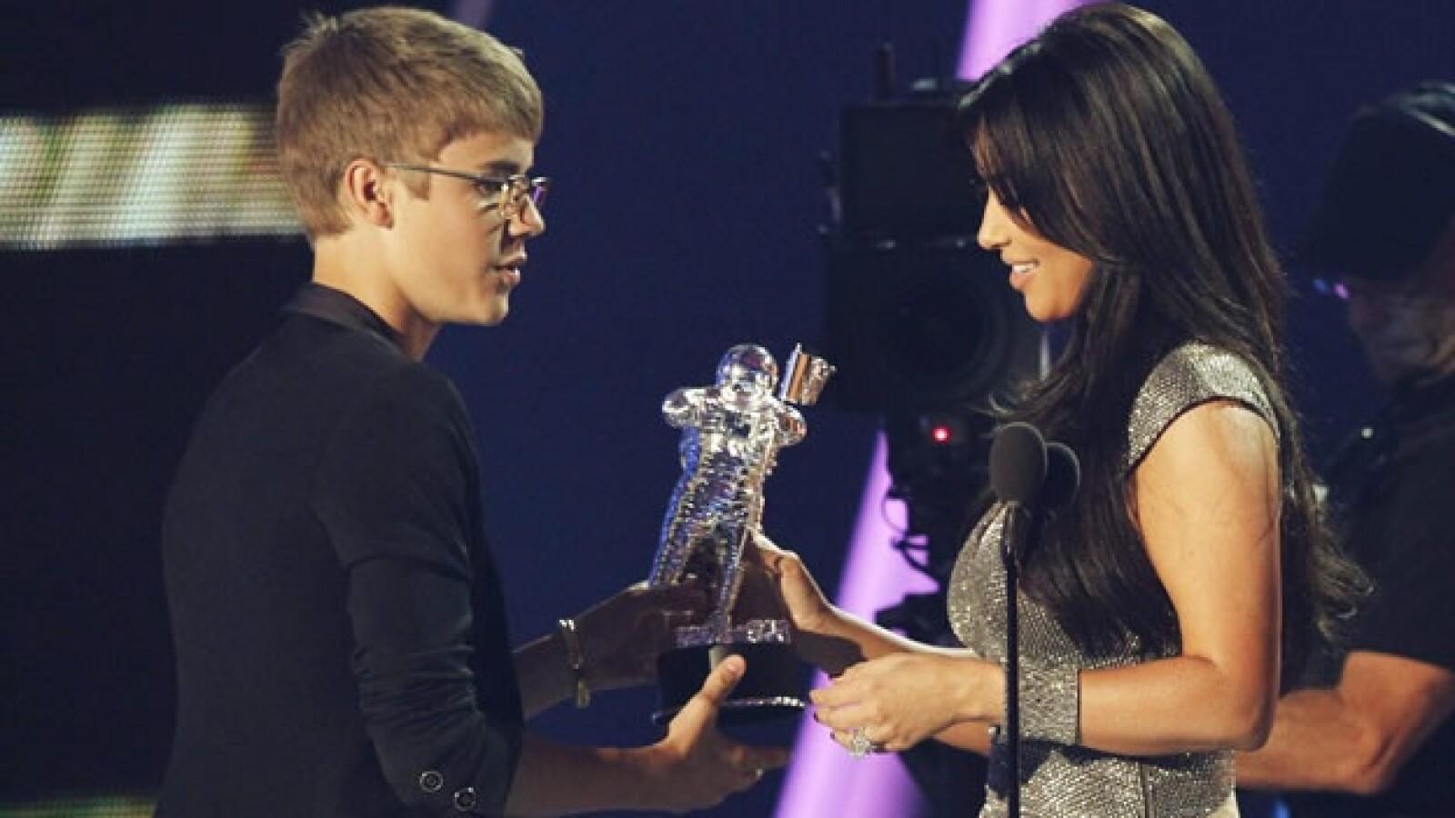 Justin Bieber Premios MTV Joe Calderone Lady Gaga Kim Kardashian