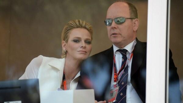 La princesa Charlene y el príncipe Albert II de Mónaco fueron los anfitriones de la carrera.