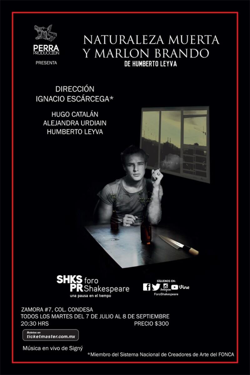 El montaje se presenta los martes en el Foro Shakespeare de la Ciudad de México.