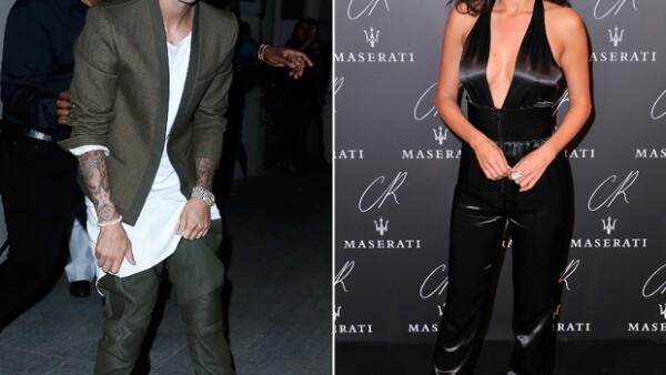 La pareja fue vista por separado en la fiesta de CR Fashion Book..