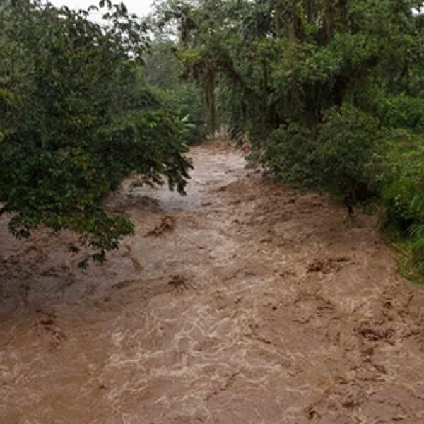 río Texolo Veracruz inundaciones Barry