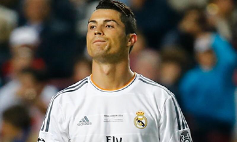 Ronaldo es conocido por casi 84% de las personas a nivel mundial, de acuerdo con Repucom. (Foto: Reuters)