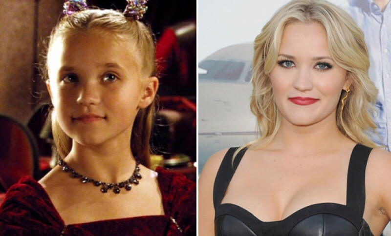 Emily se hizo famosa por su participación al lado de Miley Cyrus en la serie Hannah Montana.