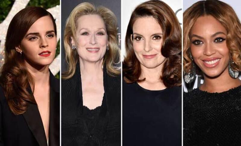 Desde uno de los discursos más emotivos y que empoderan el papel de la mujer en la actualidad hasta cantantes pop, estas son las famosas que perfilaron como las feministas del año.