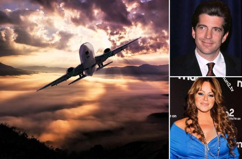 Famosos que murieron en accidentes aéreos