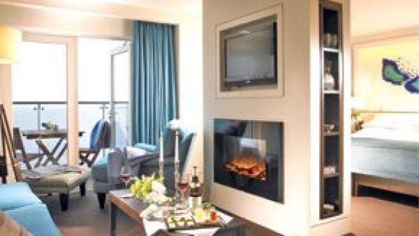 Un increíble acantilado es el marco de este lujoso hotel al sur de Dublín.