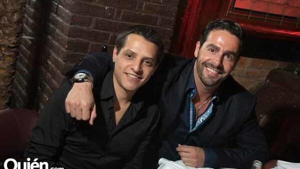 Alejandro Muela Romero y Eduardo Carbajal