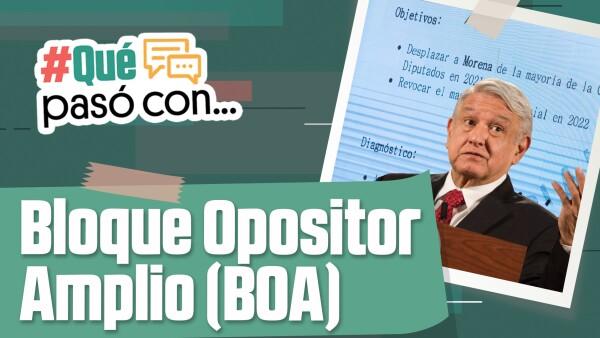 #QuéPasóCon el BOA