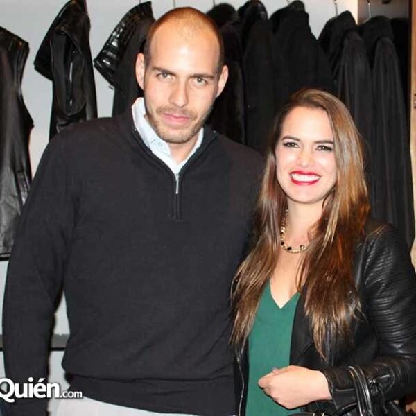 Óscar García y Andrea Romero