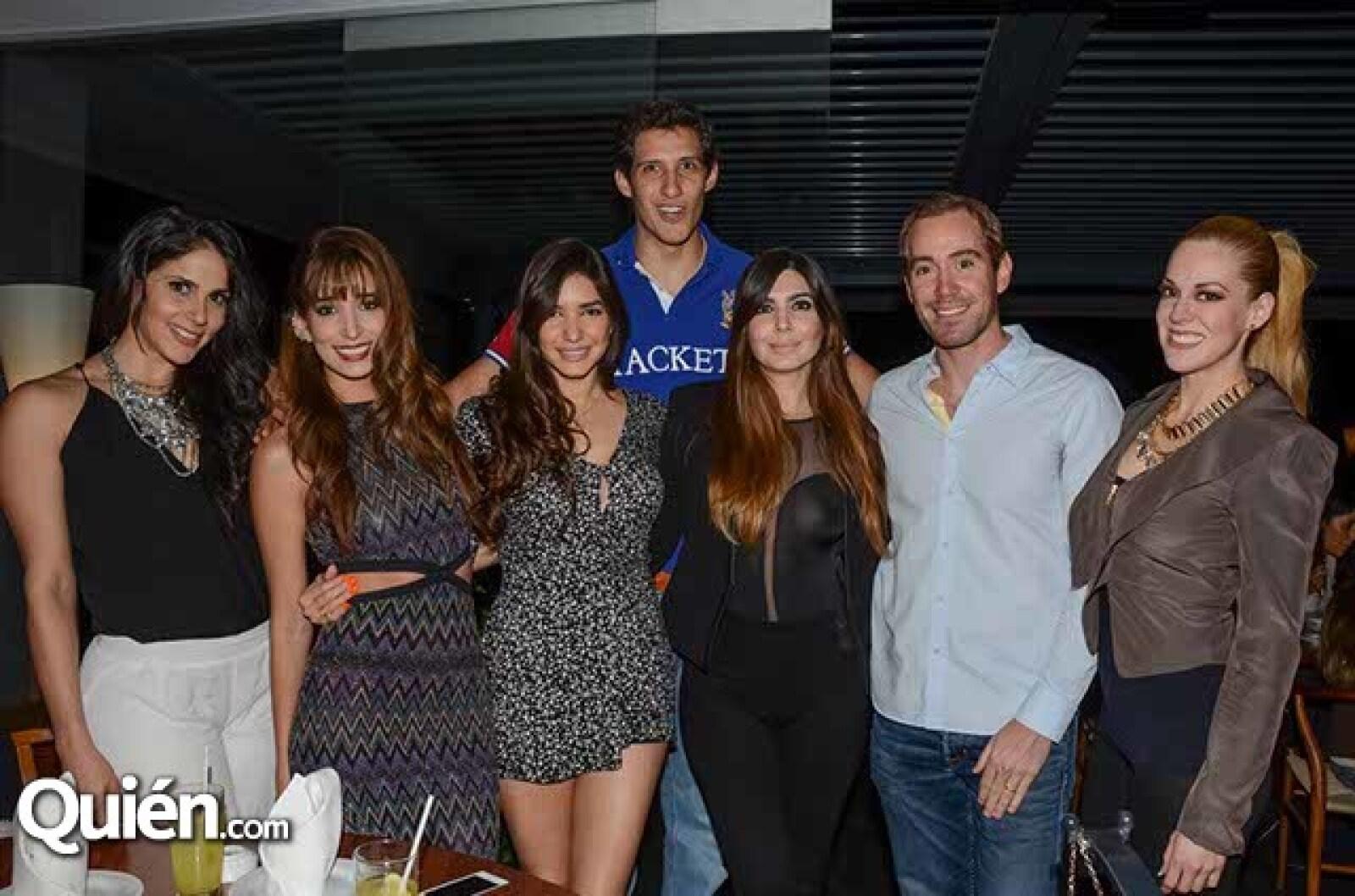 Eva Cedeño,Mariana Estrada,Dayana y Natalia Chiquete,Santiago Soto,Arian Gutiérrez y Natalya Carrasco.