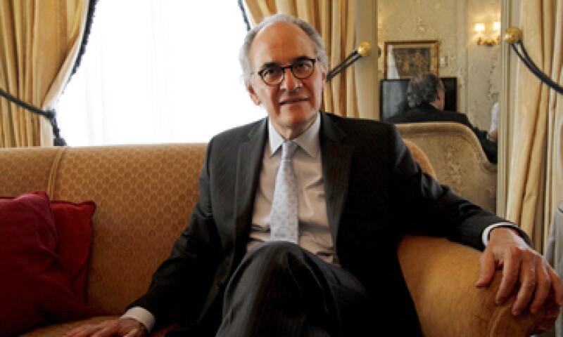 Herminio Blanco es uno de los dos finalistas que buscan la presidencia del organismo. (Foto: Notimex)