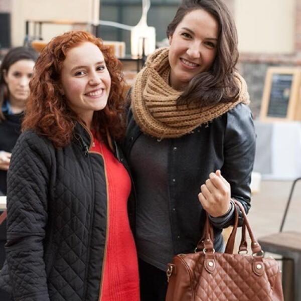 Paola Malo y Cristina Esquivelzeta