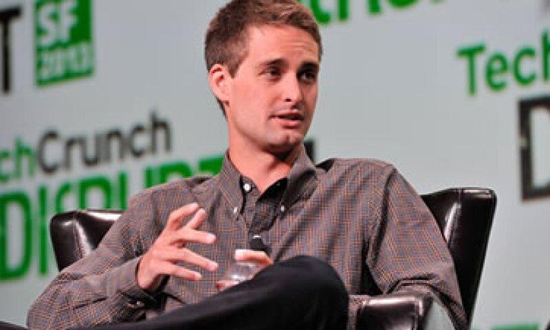 Evan Spiegel es CEO de la aplicación móvil Snapchat. (Foto: Getty Images )