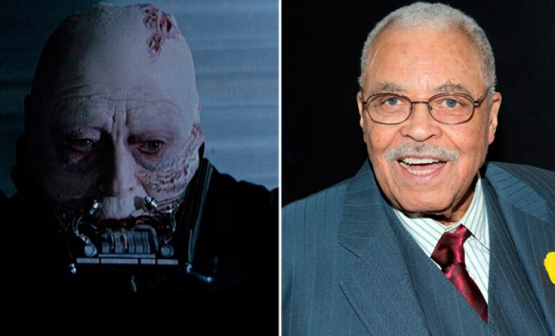 James Earl Jones fue el encargado de doblar la voz de Darth Vader para el Episodio VI - Return of The Jedi.