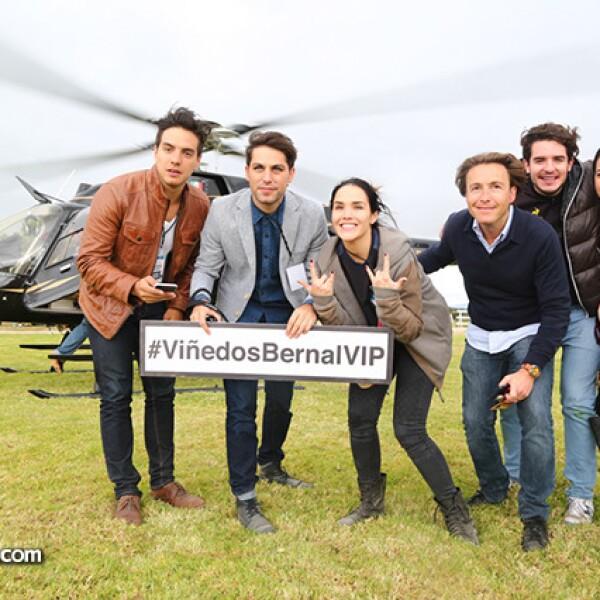 Vadhir Derbez,Renato López,Alex Ivanisevic,Mateo Gorina,Rodrigo Noriega y Monique Dupont