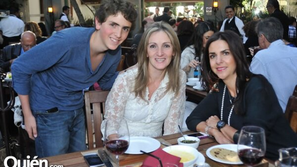 David Guakil,Diana Raffoul,Lety Zetune