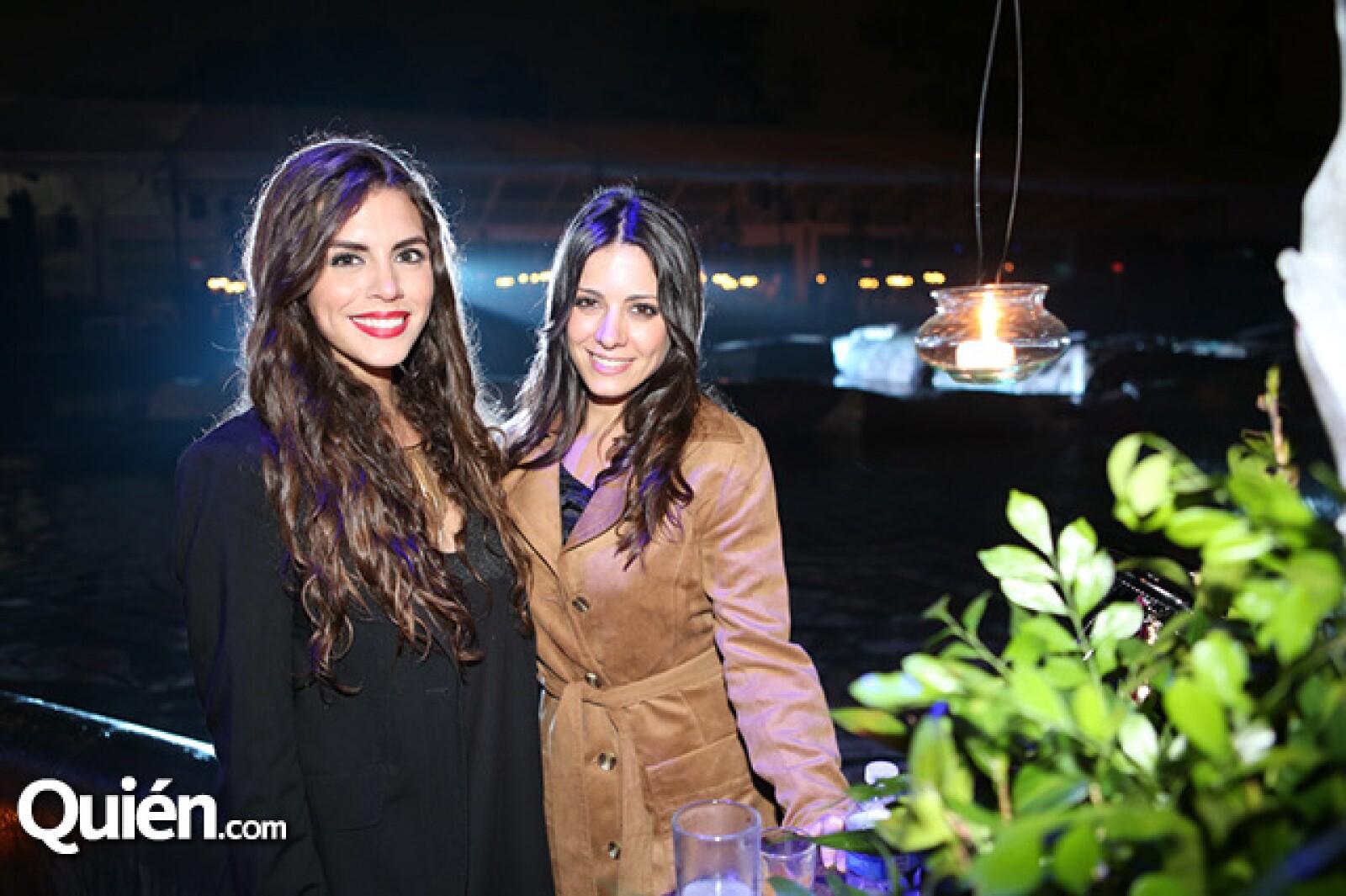 Silvia Gómez y Aroa Gimeno