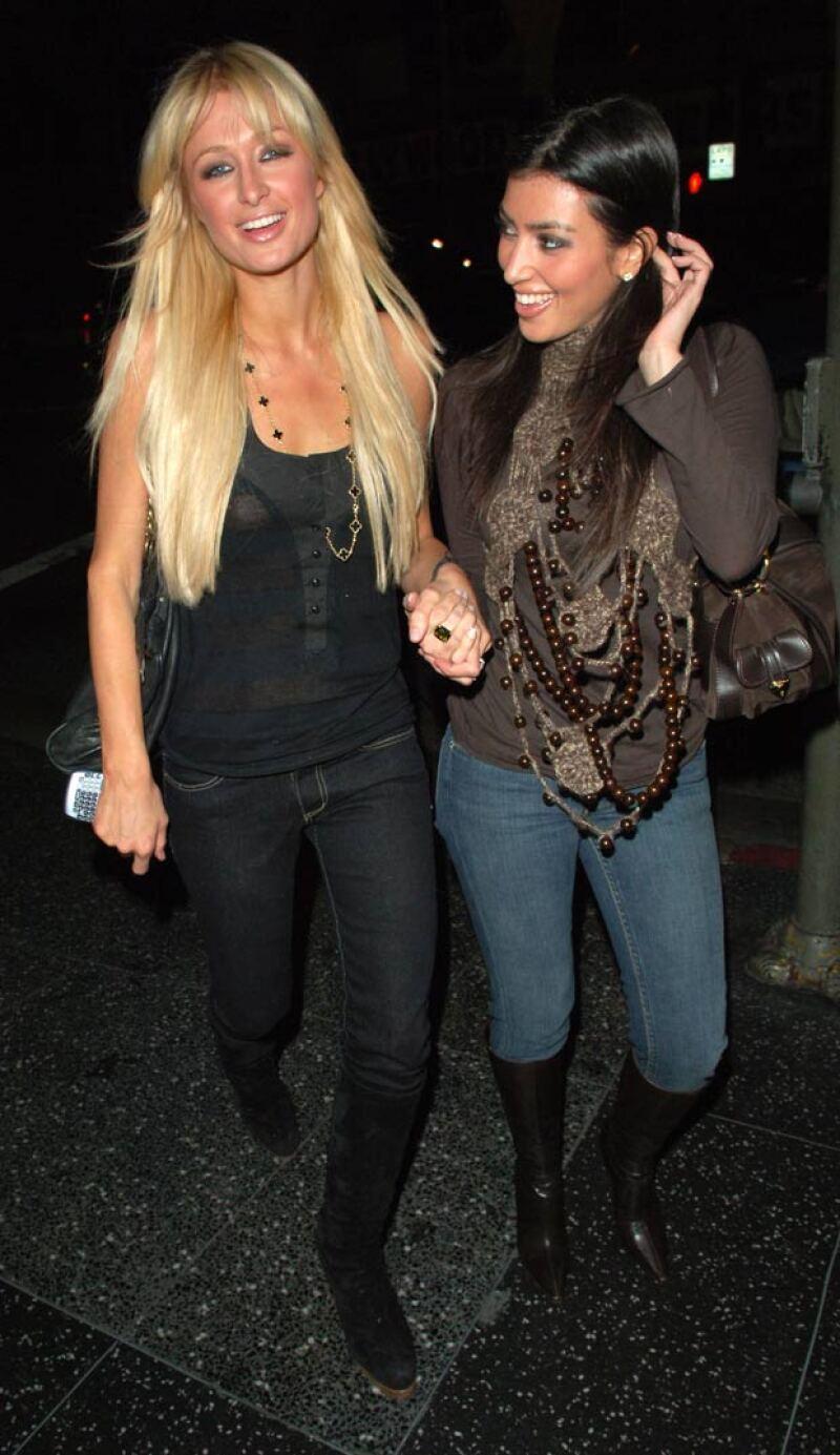 La famosa Kim solía ser asistente de Paris Hilton.