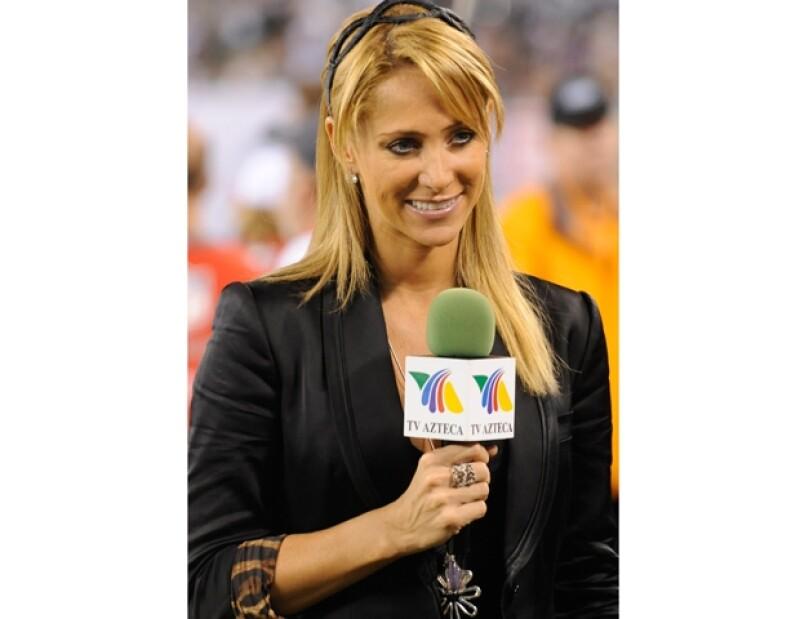 Se dice que Inés Sáinz fue acosada por jugadores en septiembre de 2010