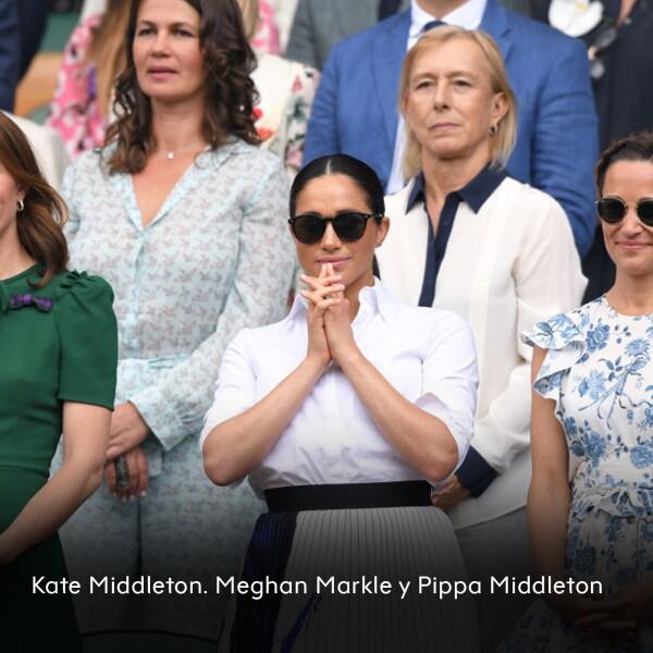 Kate Middleton, Meghan Markle y Pippa Middleton