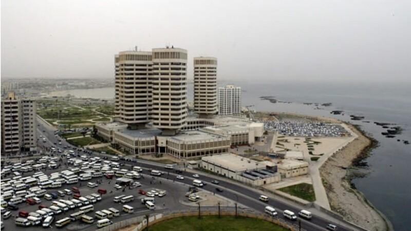Vista panoramica de Tripoli