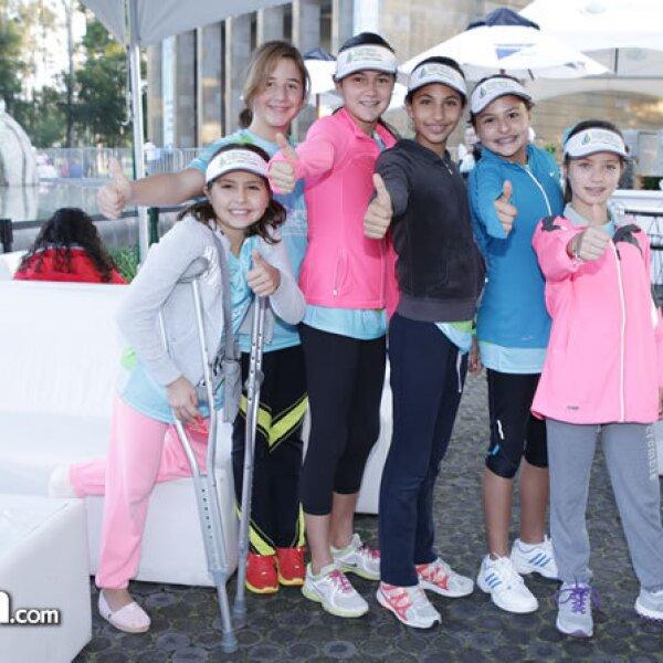 Valeria y Natalia Van Tiennhoven, Ana Pacheco, María Checa, Maitane Gutiérrez y Marina Orraca