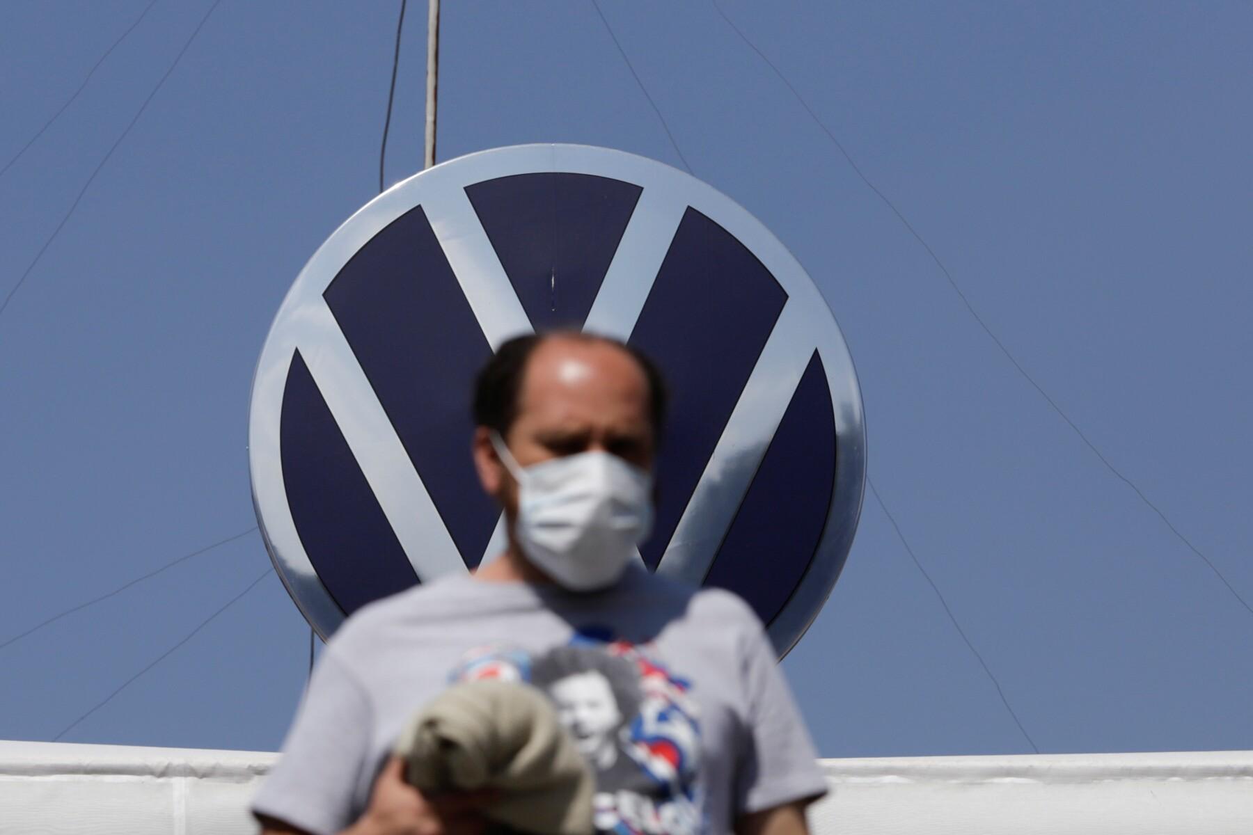 Planta de VW Puebla en tiempos de coronavirus