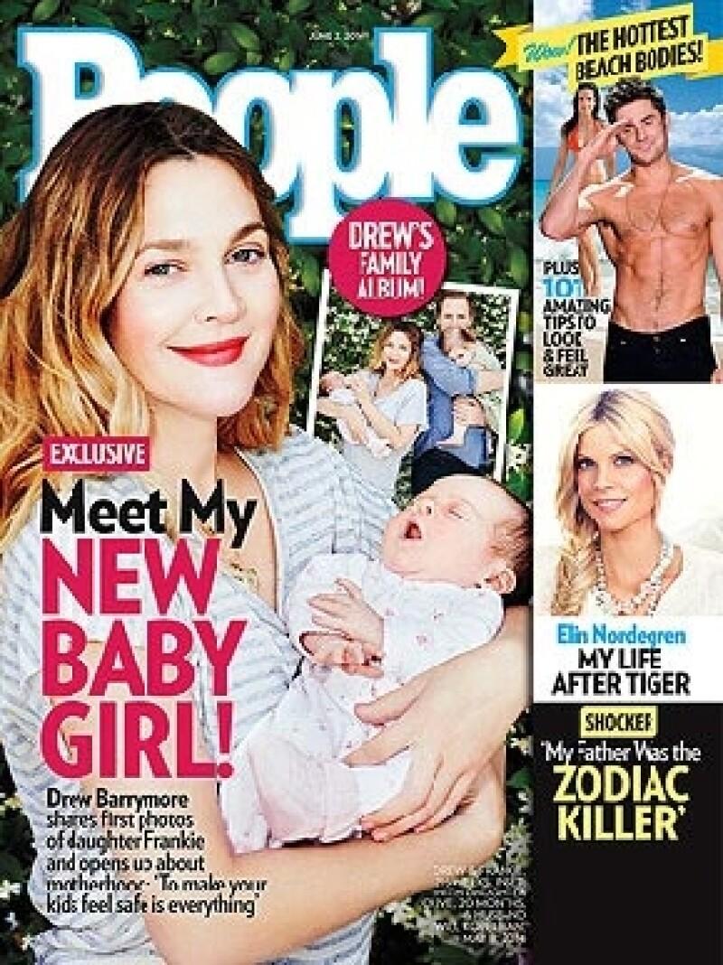 La actriz reveló el rostro de la pequeña Frankie a la revista People, misma a la que confesó los cambios que trajo a su vida la llegada de su segunda hija al lado de Will Kopelman.