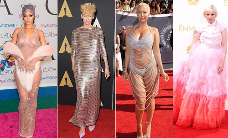 ¿En qué estaban pensando Rihanna, Tilda Swinton, Amber Rose y varias celebridades más cuando se pusieron estos diseños?