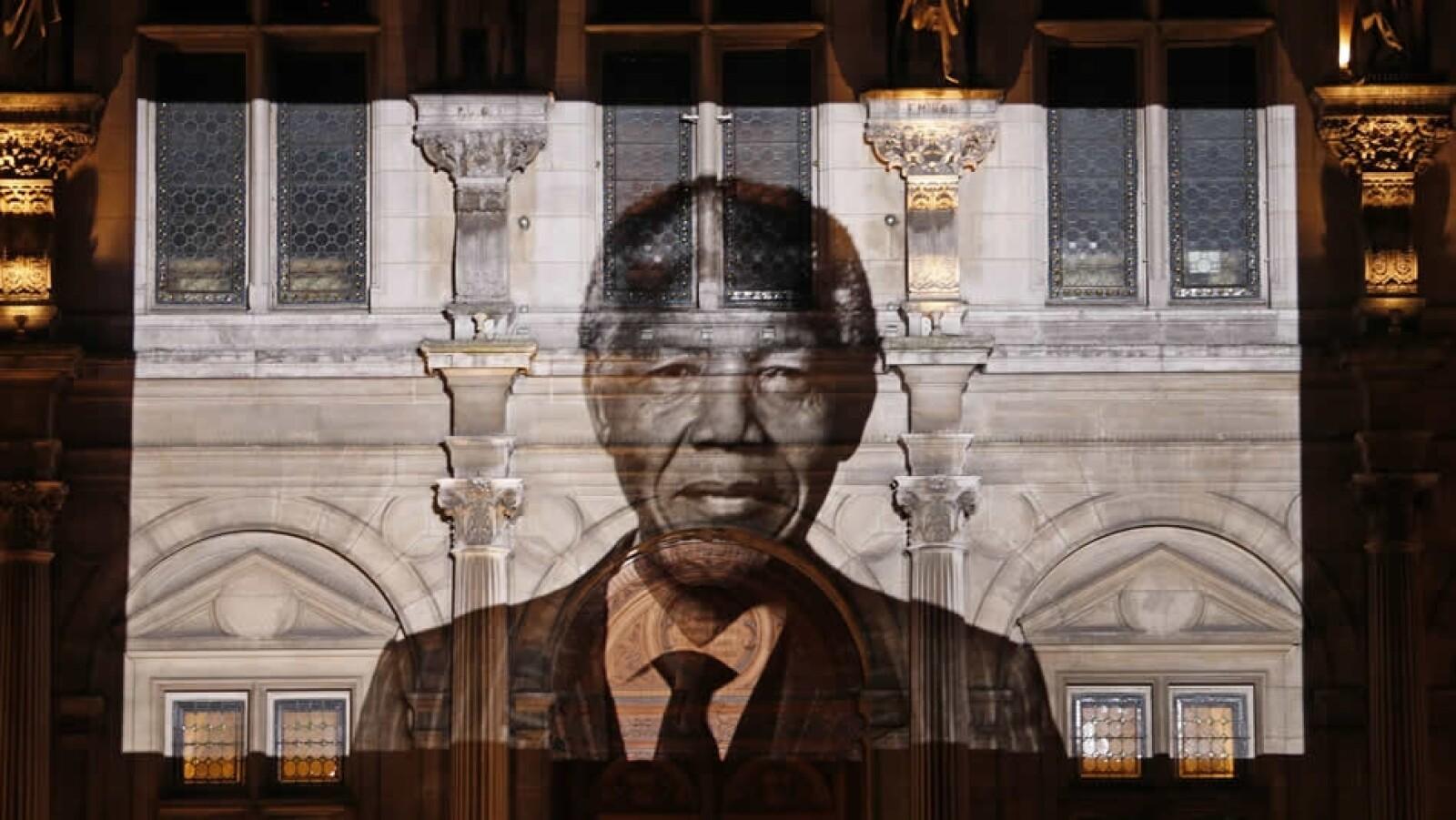 Ayuntamiento de París Mandela