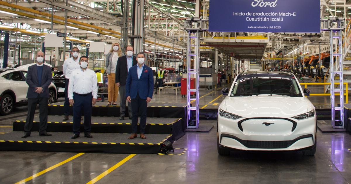 Ford fabricará un segundo auto eléctrico en México y el sindicato de EU enfurece