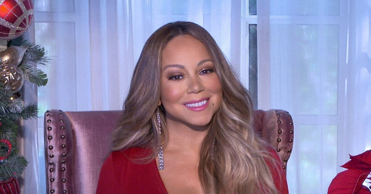 Mariah Carey's viral reaction after being vaccinated against Covid-19