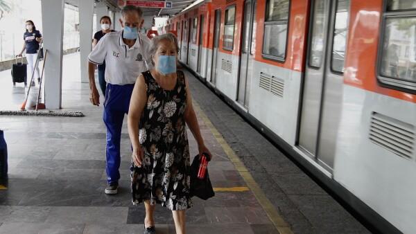 Metro durante la pandemia de COVID-19