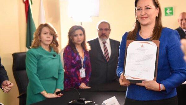 Gobernadora electa de Puebla.