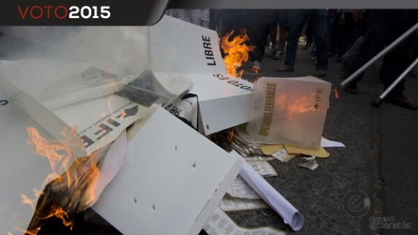 Oaxaca quema