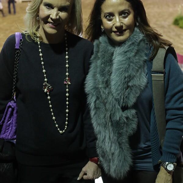 Herna Soto y Marí Tere Márquez