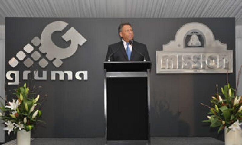 Juan González Moreno empezó a trabajar en Gruma en 1982. (Foto: Cortesía Gruma)